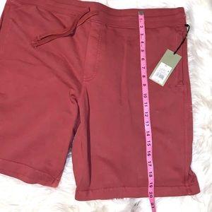 Goodfellow & Co Red Drawstring Shorts Mens